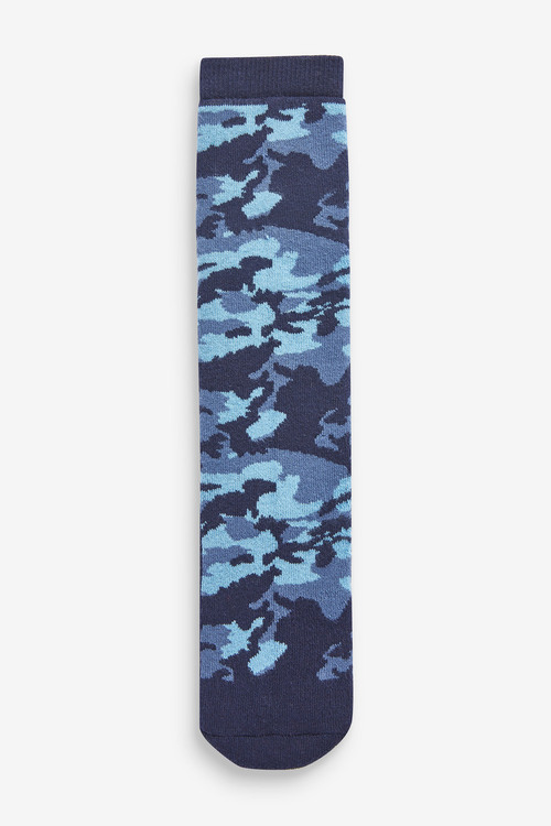 Next 2 Pack Cotton Rich Camo Welly Socks (Older)