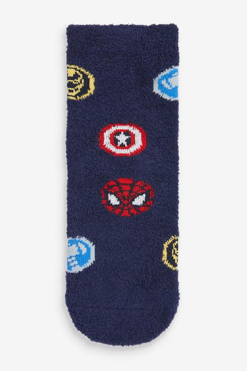Next 2 Pack Marvel Cosy Socks (Older)