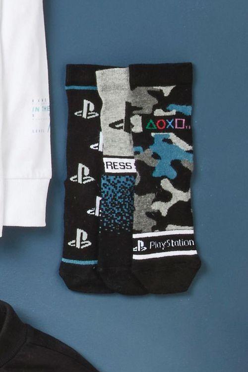 Next 3 Pack PlayStation Socks (Older)