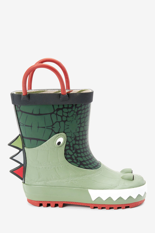 Next Crocodile Handle Wellies (Younger)