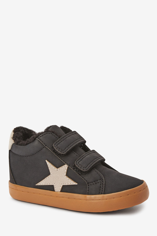 Next Star Warm Lined Touch Fastening Boots (Younger)