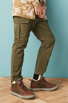 Next Tapered Cargo Trousers (3-16yrs) - 277979