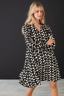Next V-Neck Collar Dress-Regular - 278029