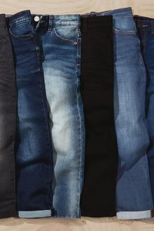 Next Five Pocket Jeans (3-16yrs)-Tapered Loose Fit - 278046