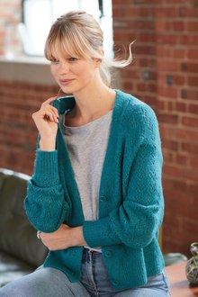 Next Stitch Detail Cardigan - 278047