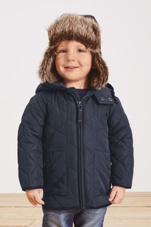 Next Smart Quilted Jacket (3mths-7yrs) - 278049
