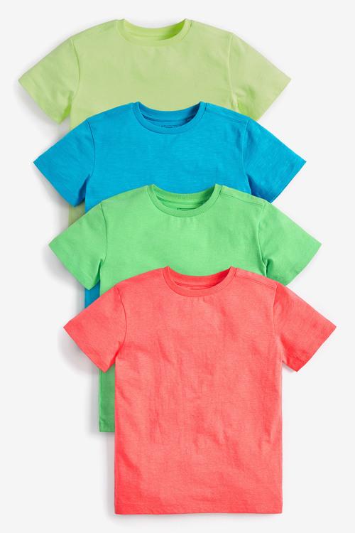 Next 4 Pack Fluro T-Shirts (3-16yrs)