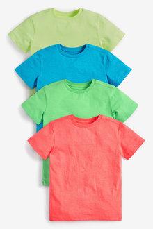 Next 4 Pack Fluro T-Shirts (3-16yrs) - 278083