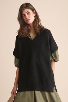 Next V-Neck Tabard-Regular - 278182