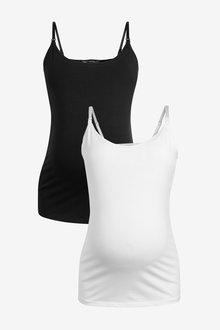 Next Organic Cotton Nursing Vests Two Pack - 278225