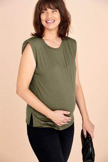 Next Maternity Shoulder Pad T-Shirt - 278228