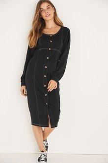 Next Maternity/Nursing Button Through Dress - 278231