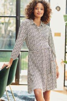 Next Maternity Jersey Shirt Dress - 278233