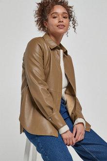 Next Faux Leather Shirt - 278246
