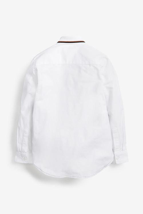 Next Long Sleeve Colourblock Shirt (3-16yrs)