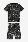 Next Splat T-Shirt and Short Set (3-16yrs)