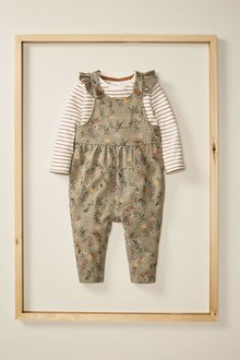 Next Dungarees And T-Shirt Set (3mths-7yrs) - 278311