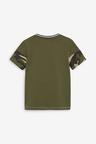 Next Colour Block T-Shirt and Shorts Set (3-16yrs)