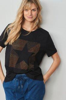 Next Relaxed Short Sleeve T-Shirt-Tall - 278375