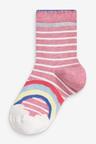 Next 7 Pack Rainbow Socks