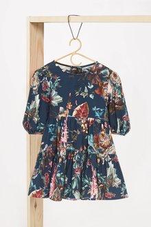 Next Cotton Tiered Dress (3mths-7yrs) - 278395
