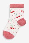 Next 5 Pack Cherry Ankle Socks