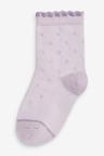 Next 7 Pack Floral Ankle Socks