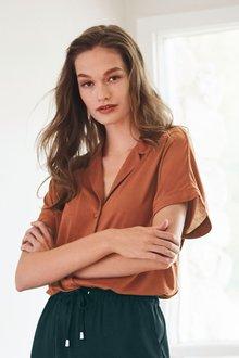 Next Luxe Short Sleeve Shirt - 278406