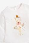 Next Cat Embellished T-Shirt (3mths-7yrs)
