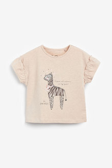 Next Zebra Character T-Shirt (3mths-7yrs) - 278462