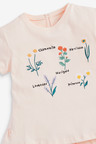 Next Floral Embroidery T-Shirt (3mths-7yrs)