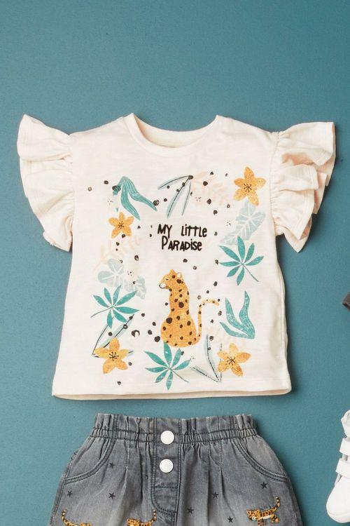 Next Leopard T-Shirt (3mths-7yrs)