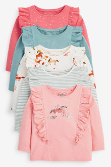 Next 5 Pack Unicorn T-Shirts (3mths-7yrs) - 278480