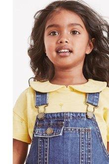 Next 3 Pack Organic Cotton Collar Tops (3mths-7yrs) - 278486