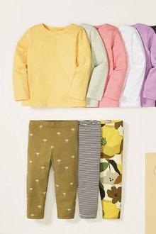 Next 8 Pack GOTS Organic Cotton T-Shirts (3mths-7yrs) - 278490
