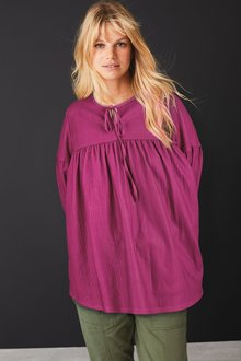 Next Textured Tunic-Tall - 278514