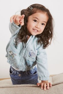 Next Embroidered Patch Bomber Jacket (3mths-7yrs) - 278534