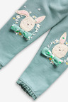 Next GOTS Organic Cotton Embroidered Leggings (3mths-7yrs)