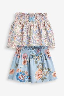 Next 2 Pack Jersey Skirts (3mths-7yrs) - 278559