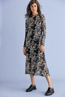 Next Mesh Dress-Regular - 278560
