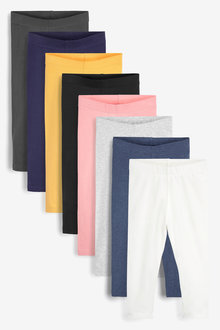 Next 8 pack GOTS Organic Leggings (3mths-7yrs) - 278562