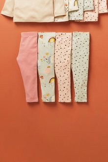 Next 4 Pack Leggings (3mths-7yrs) - 278564