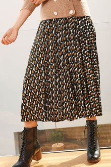 Next Pleated Midi Skirt-Tall - 278568