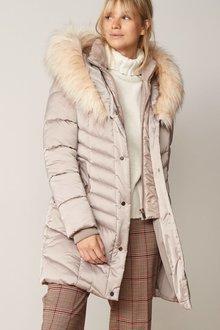 Next Faux Fur Padded Jacket-Regular - 278570