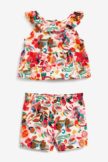 Next Printed Co-Ord Set (3mths-7yrs) - 278589