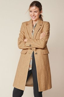 Next Revere Collar Coat-Regular - 278590
