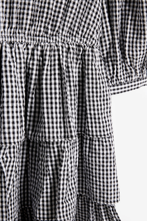 Next Tiered Gingham Dress (3-16yrs)
