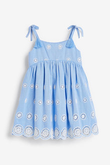 Next Broderie Dress - 278671