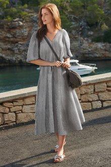 Next Midi Swing Dress-Tall - 278721