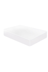 DreamZ 100% Cotton Striped Waterproof Mattress Protector